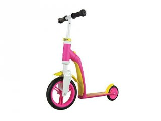 Scoot & Ride highway baby, 2 in 1 futóbicikli és roller, Pink (1,5-3 év)