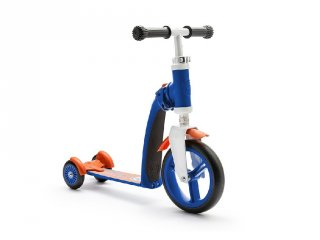 Scoot & Ride highway baby, 2 in 1 futóbicikli és roller, Sötétkék (1,5-3 év)