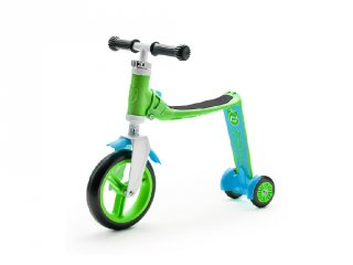 Scoot & Ride highway baby, 2 in 1 futóbicikli és roller, Zöld (1,5-3 év)