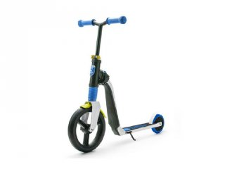 Scoot & Ride Highway freak, 2 in 1 futóbicikli és roller, Kék (3-6 év)