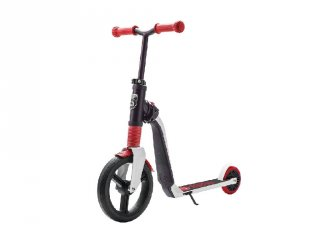 Scoot & Ride Highway freak, 2 in 1 futóbicikli és roller, Piros (3-6 év)