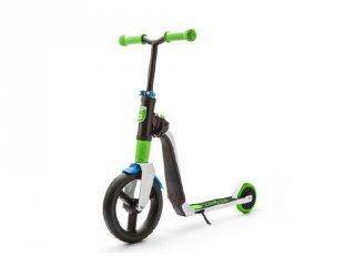 Scoot & Ride Highway freak, 2 in 1 futóbicikli és roller, Zöld (3-6 év)