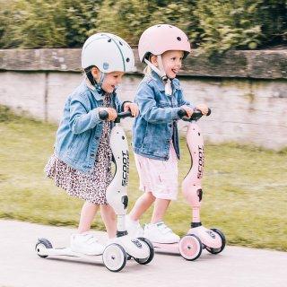 Scoot and Ride gyerek sisak XXS-S Rose