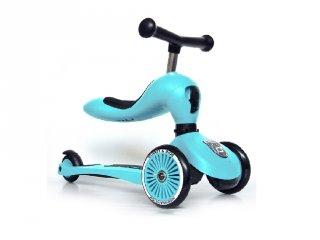 Scoot and Ride Highwaykick 1.Motoroller, 2 in 1 háromkerekű kismotor és roller, Blueberry (1-5 év)
