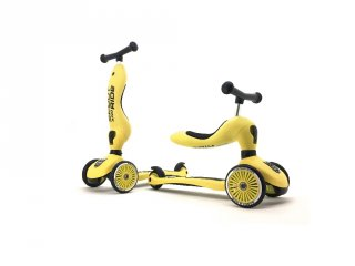 Scoot and Ride Highwaykick 1.Motoroller, 2 in 1 háromkerekű kismotor és roller, LEMON (1-5 év)
