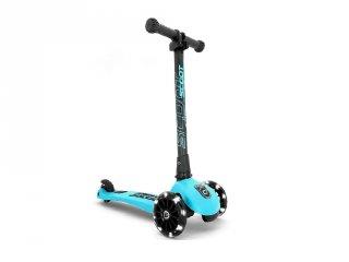 Scoot and Ride Highwaykick összecsukható LED roller, Blueberry (3-6 év)