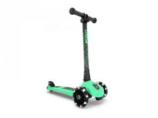 Scoot and Ride Highwaykick összecsukható LED roller, Kiwi (3-6 év)