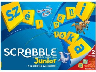 Scrabble Junior (Scrabble, szójáték, 5-12 év)