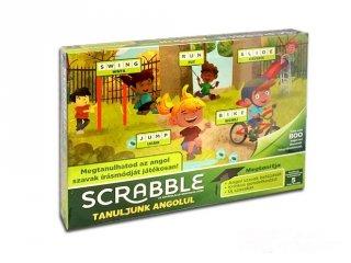 Scrabble Tanuljunk angolul! társasjáték gyerekeknek (5-12 év)