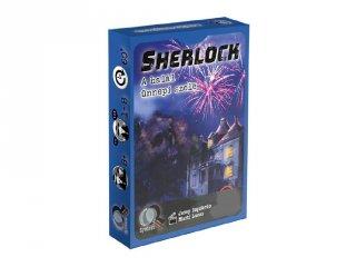 Sherlock, A halál ünnepi szele kooperációs kártyajáték (8-99 év)