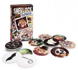 Sherlock Express, nyomozós kártyajáték (7-99 év)
