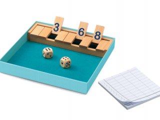 Shut the box (Djeco, 5217, logikai, matekos társasjáték, 6-99 év)