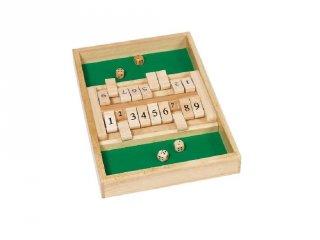 Shut the box, Goki logikai, matekos társasjáték (6-99 év)