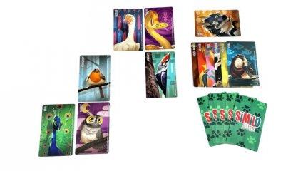 Similo Állatok, kooperatív logikai kártyajáték (7-12 év)