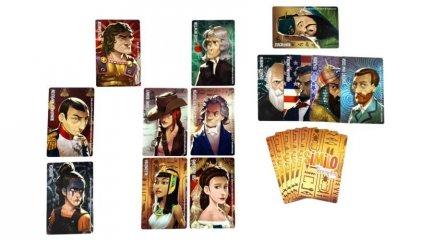 Similo Történelem, kooperatív logikai kártyajáték (7-12 év)