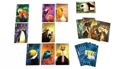 Similo Vadállatok, kooperatív logikai kártyajáték (7-12 év)