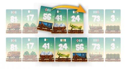 Sínen vagyunk (BG, matekos, vonatos kártyajáték, 8-99 év)