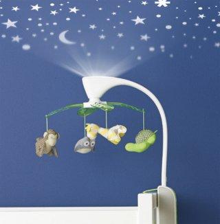 Skip Hop 2in1 zenélő forgó projectorral éjszakai fénnyel, szafari
