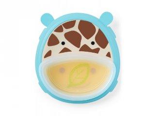 Skip Hop 3 részes, csúszásgátlós tányér, Zsiráf