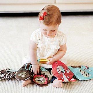 Skip Hop Alphabet Textil Könyvecske, babajáték (textil játék)