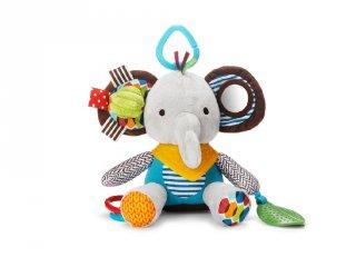 Skip Hop Babakocsi játék, elefántos felfedező babajáték