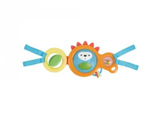 Skip Hop Babakocsi játék, sünis zenélő, világító felfedező babajáték