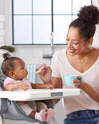 Skip Hop puha kanál 2 db, baba etetés (rózsaszín, szürke)