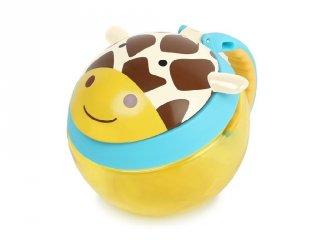 Skip Hop Snack Tartó, Zsiráf, baba etetés (snack cup)