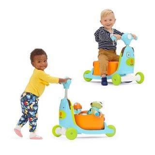 Skip Hop Zoo Kutya 3 az 1-ben babajármű, mozgásfejlesztő bébijáték (1-3 év)