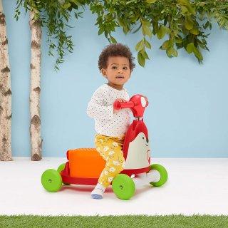 Skip Hop Zoo Róka 3 az 1-ben babajármű, mozgásfejlesztő bébijáték (1-3 év)