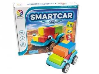 Smart Car 5x5 (Smart Games, autós térlátást fejlesztő logikai játék, 4-10 év)