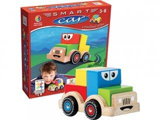 Smart Car (Smart Games, autós, térlátást fejlesztő logikai játék, 2-5 év)