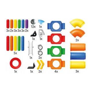 SmartMax gyűjtődobozban, 52 db-os mágneses építőjáték készlet (1-5 év)