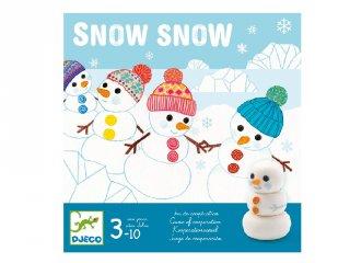 Snow Snow, Djeco kooperatív társasjáték - 8492 (3-8 év)