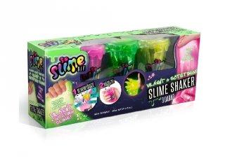 So Slime Shaker, sötétben világító 3 db-os kreatív szett (többféle színben kapható)