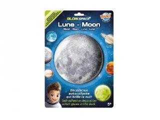 Sötétben világító bolygó Hold, Buki gyerekszoba kiegészítő