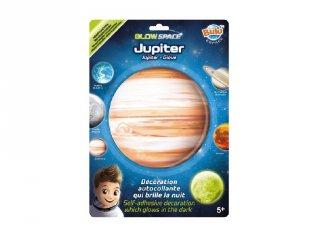 Sötétben világító bolygó Jupiter, Buki gyerekszoba kiegészítő