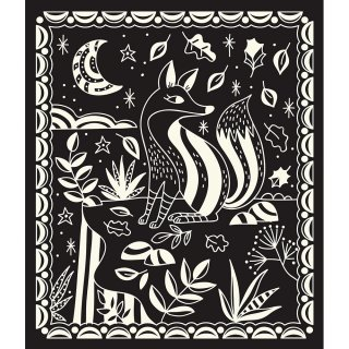Sötétben világító karckép készítő, Janod kreatív szett (7896, 6-12 év)