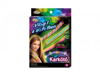 Sötétben világító karkötők (Creative Kids, ékszerkészítő kreatív játék, 6-12 év)