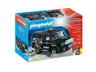Speciális egység terepjárója, Playmobil szerepjáték (5974, 4-10 év)