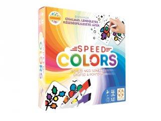 Speed Colors gyorsasági színezős társasjáték (5-12 év)