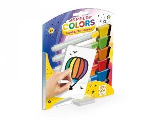 Speed Colors gyorsasági színezős társasjáték, kiegészítő csomag (5-12 év)
