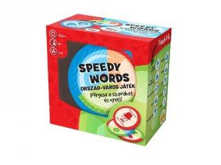 Speedy words Ország-város, gyorsasági társasjáték (6-99 év)