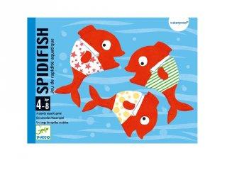 Spidifish, Djeco vízhatlan kétszemélyes kártyajáték (5155, 4-8 év)