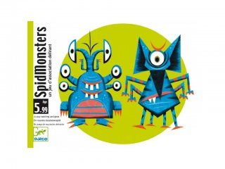 Spidmonsters (Djeco, 5193, gyorsasági kártyajáték, 5-99 év)