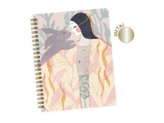 Spirál füzet Izumi, Djeco Lovely Paper papír írószer - 3692