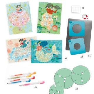Spirál műhely, Djeco kreatív készlet lányoknak - 8737 (7-13 év)