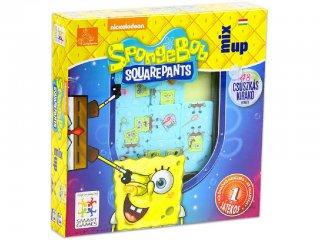 Spongyabob kockanadrág tili toli játék (Smart Games, logikai játék, 6-99 év)