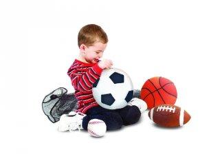 Sportlabdák, 4 db-os labda készlet (MD, 2-7 év)