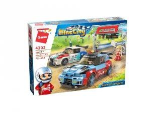 Sprint teljes gázzal, Lego kompatibilis építőjáték készlet (QMAN, 4202, 6-12 év)